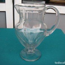 Antigüedades: JARRA DE CRISTAL FACETADA. Lote 67049614