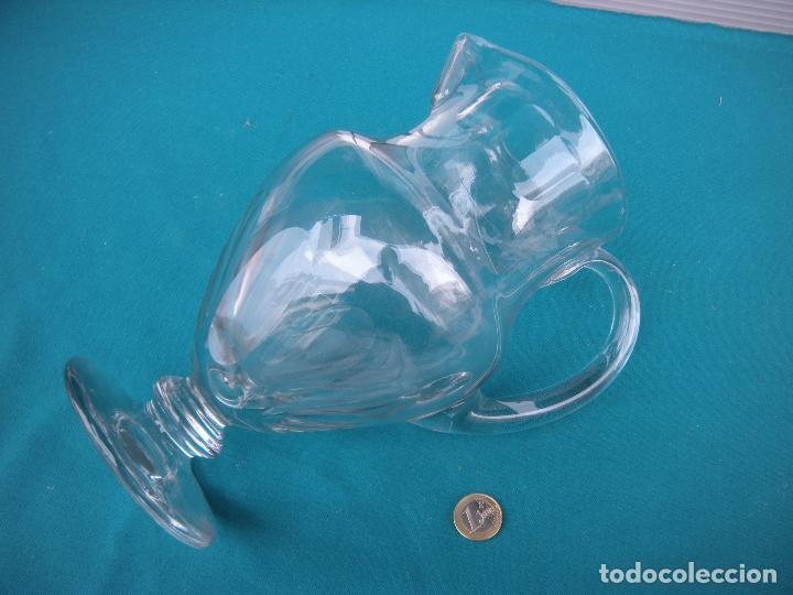 Antigüedades: JARRA DE CRISTAL FACETADA - Foto 6 - 67049614