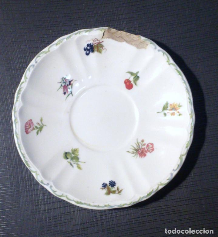 ANTIGUO PLATO DE ASTURIAS, CON SELLO (Antigüedades - Porcelanas y Cerámicas - San Claudio)