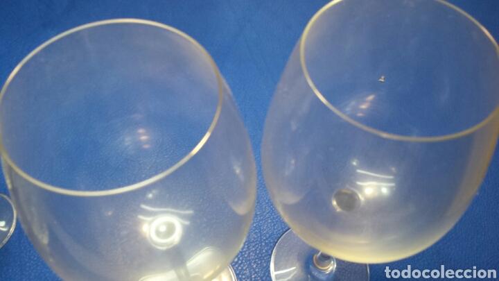 Antigüedades: Pareja de copas de vino Imperial de Spiegelau - Foto 3 - 67063482