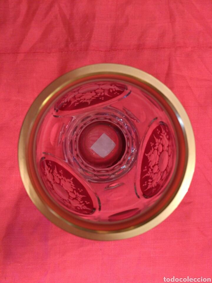 Antigüedades: Vaso de cristal de Bohemia - Foto 3 - 67106942