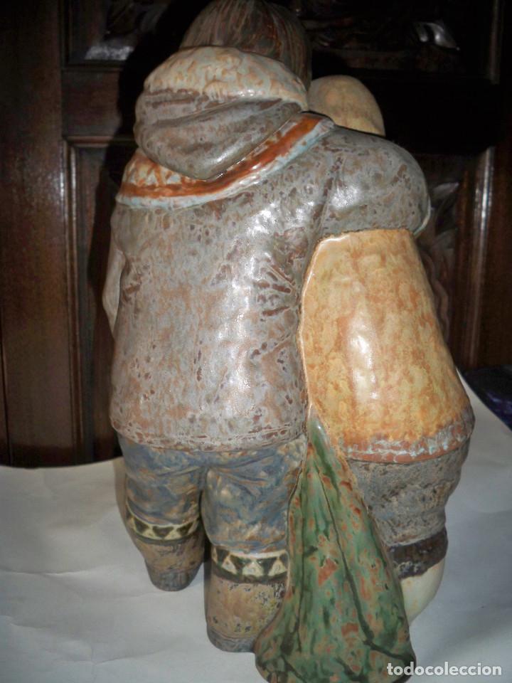 Antigüedades: FIGURA LLADRO NIÑOS DEL ARTICO ESQUIMALES - Foto 4 - 67186965