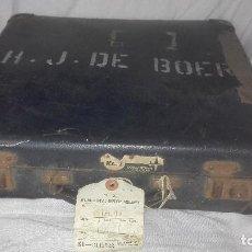 Antigüedades: MALETÍN ROYAL DUTCH AIRLINES. AÑOS 50-60. Lote 67290837