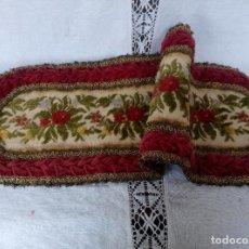 Antigüedades: ANTIGUO TAPETE DE IGLESIA PARA MESA LITURGIAS. Lote 67293037