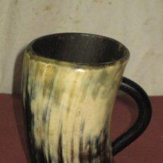 Antigüedades: VASO DE ASTA. Lote 67305929