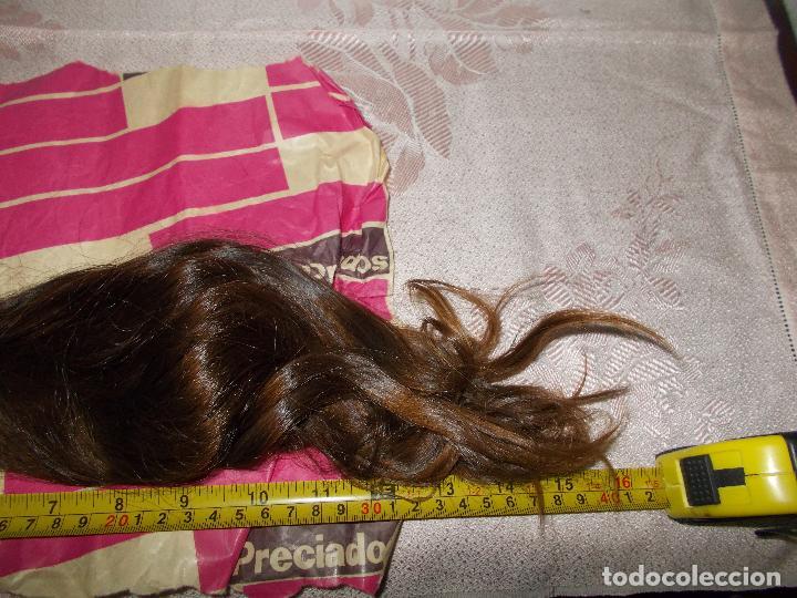 Antigüedades: Postizo, cola de pelo natural - Foto 2 - 67367305