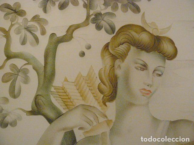Antigüedades: PUERTA CRISTALERA PINTADA AL ACIDO - Foto 2 - 67372237