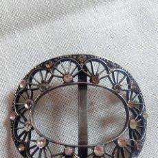 Antigüedades: HEBILLA O PASADOR S XIX MODERNISTAS ART NOUVEAU. Lote 67494081