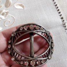 Antigüedades: HEBILLA O PASADOR S XIX MODERNISTAS ART NOUVEAU. Lote 67494149