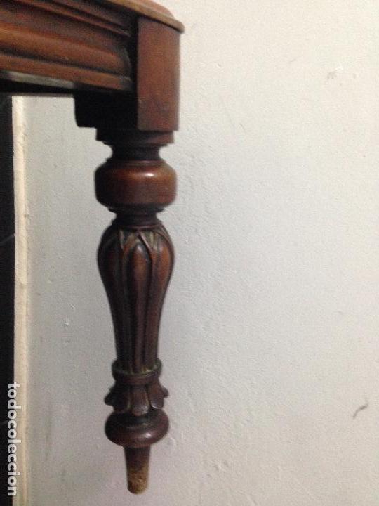 Antigüedades: Pareja sillas caoba siglo XIX - Foto 4 - 140202862