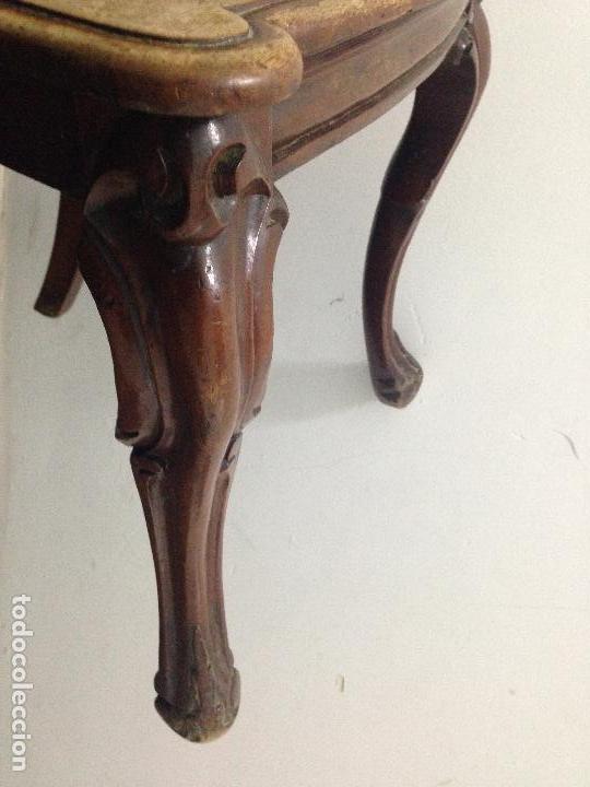 Antigüedades: Pareja sillas caoba siglo XIX - Foto 5 - 140202862