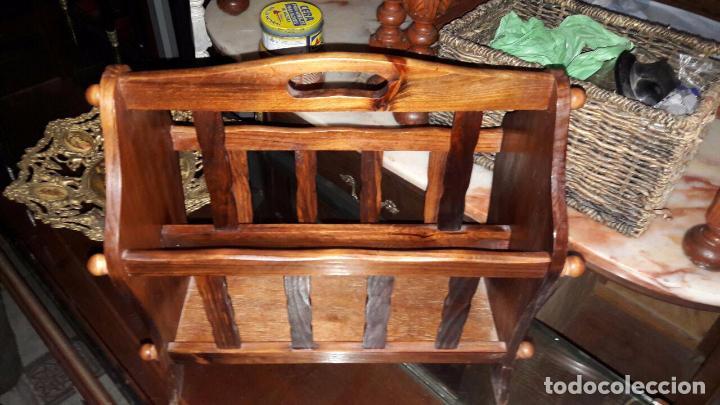 Antigüedades: REVISTERO MADERA - Foto 2 - 67594453