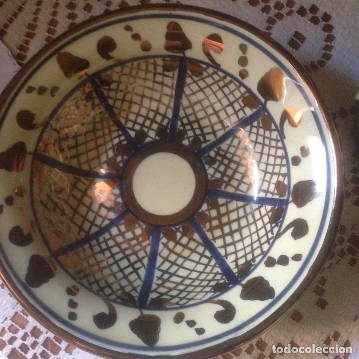 Antigüedades: Plato y jarra Arte Classic Manises - Foto 3 - 67599237