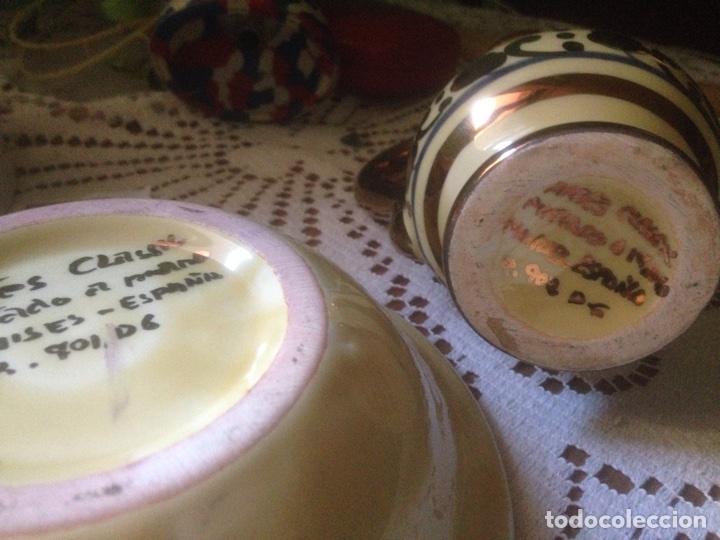 Antigüedades: Plato y jarra Arte Classic Manises - Foto 5 - 67599237