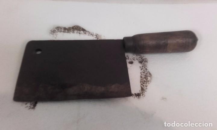 Antiguo cuchillo usado por carniceros comprar for Utensilios del hogar