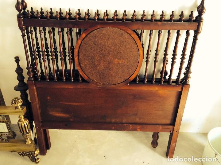 Par de cabeceros antiguos cama 90 comprar camas antiguas en todocoleccion 67661945 - Cabeceros de cama antiguos ...