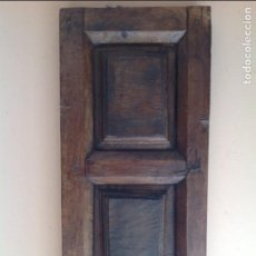 Antigüedades: CONTRAVENTANA MADERA NOGAL S XVIII EXCELENTE ESTADO. Lote 67666333
