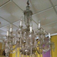 Antigüedades: GRAN LAMPARA DE ARAÑA. Lote 67671354