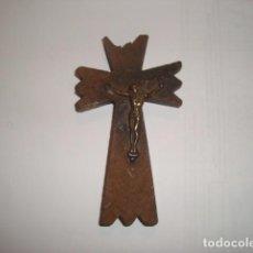Antigüedades: ANTIGUO CRUCIFIJO MASON. Lote 67678041