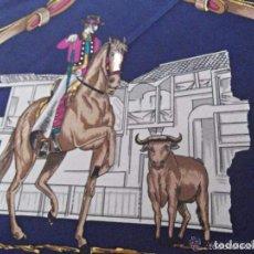 Antigüedades: PAÑUELO DE ETYAM, SEDA NATURAL, PERFECTO ESTADO,. Lote 67705509