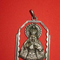 Antigüedades: ANTIGUA MEDALLA DE LA VIRGEN . CALADA.. Lote 81628870