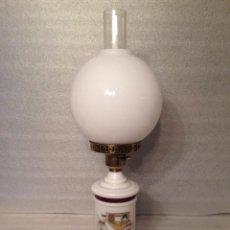 Antigüedades: LAMPARA TIPO OPALINA . Lote 67787213