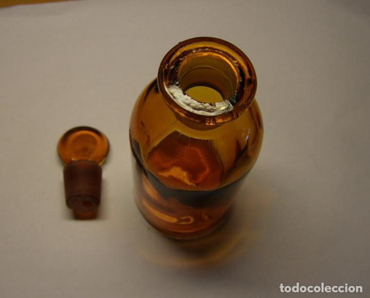 Antigüedades: Botella de cristal de farmacia, finales siglo XIX, principios s. XX. - Foto 3 - 67830429