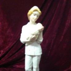 Antigüedades: PORCELANA ALGORA ENFERMERA MATRONA. Lote 67850739