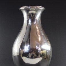 Antigüedades: JARRON EN PLATA LEY CON CONTRASTE MARCADO 833/1000. Lote 67862213