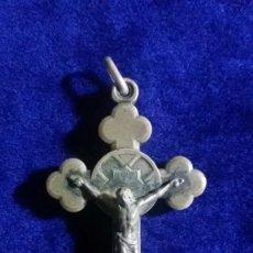 Antiquités: ANTIGUA CRUZ RELICARIO DE TAMAÑO GRANDE BEATVS ANTONIVS M.CLARET. Lote 67871345