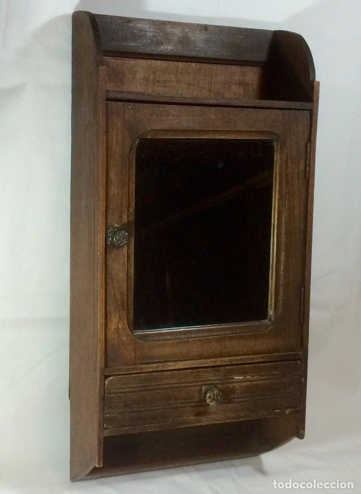 Armario armarito de pared con espejo estante vendido en venta directa 67929253 - Botiquin antiguo ...