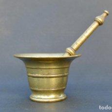 Antigüedades: ALMIREZ ANTIGUO DE 12 CM DE DIÁMETRO Y 7,5 CM DE ALTO. Lote 67934945