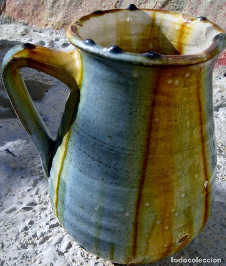 JARRA CERÁMICA VIDRIADA (Antigüedades - Porcelanas y Cerámicas - Otras)