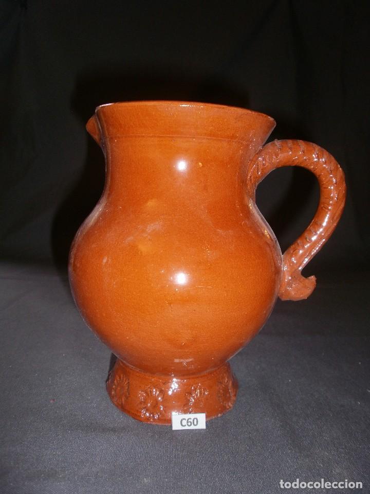 JARRA VIDRIADA CERÁMICA POPULAR (18 CM) (Antigüedades - Porcelanas y Cerámicas - Otras)
