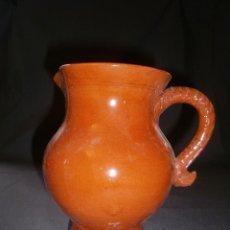 Antigüedades: JARRA VIDRIADA CERÁMICA POPULAR (18 CM). Lote 67973409