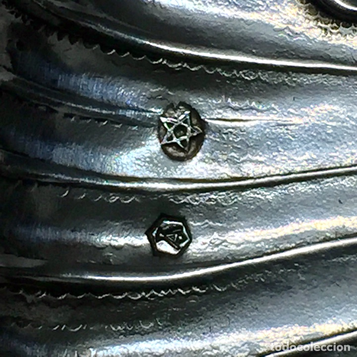 Antigüedades: BANDEJA PLATA DE LEY 15,5CM x 8,5CM 67 GRMS PUNZONADA - Foto 7 - 67988061