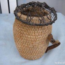 Antigüedades - CAZA ANTIGUA JAULA DE HURÓN HURONERA. - 67997553