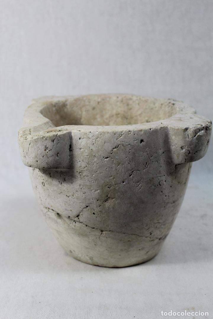 Antigüedades: mortero piedra marmol - Foto 6 - 68007345