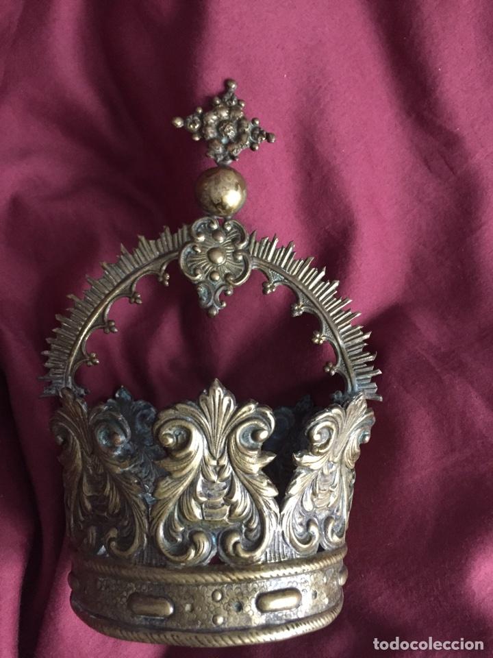 Antigüedades: Corona virgen - Foto 2 - 75504799