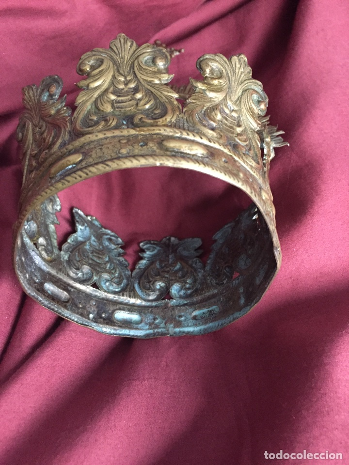 Antigüedades: Corona virgen - Foto 4 - 75504799