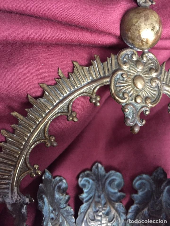Antigüedades: Corona virgen - Foto 6 - 75504799