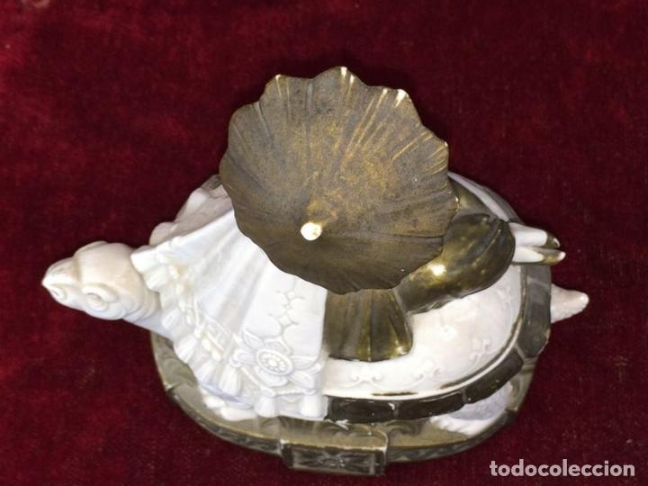 Antigüedades: BOMBONERA EN PORCELANA. ESTILO ART DÉCO. ALEMANIA(?). CIRCA 1920 - Foto 11 - 68037337