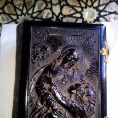 Antigüedades: MISAL FINALES SXIX EN EBANITA. Lote 79119810