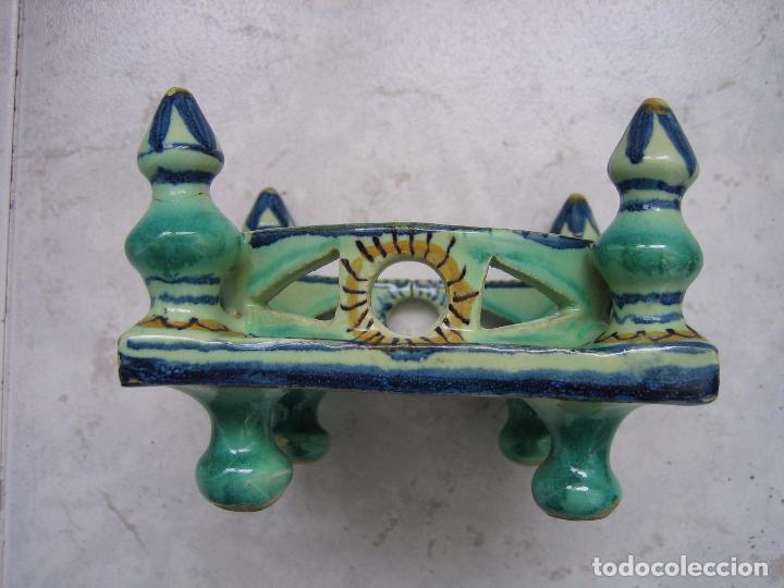 Antigüedades: Antigua cerámica. Medias 13x13x9 cm - Foto 6 - 68148013