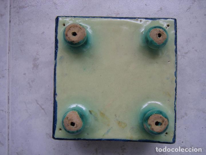 Antigüedades: Antigua cerámica. Medias 13x13x9 cm - Foto 8 - 68148013