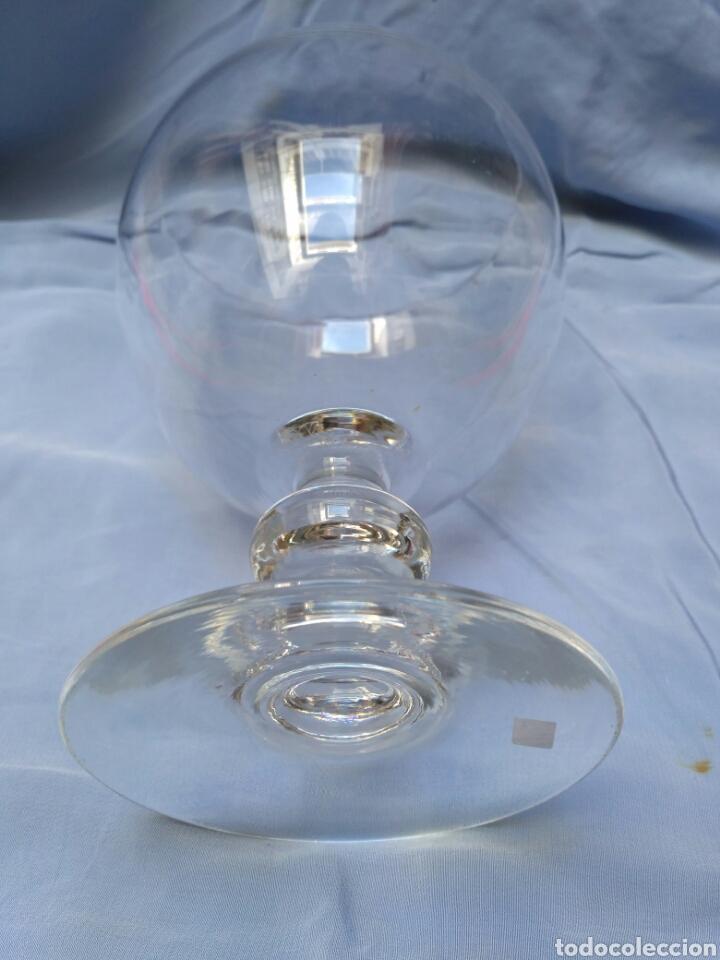 Antigüedades: Copa de cristal transparente del siglo XX - Foto 3 - 68224923