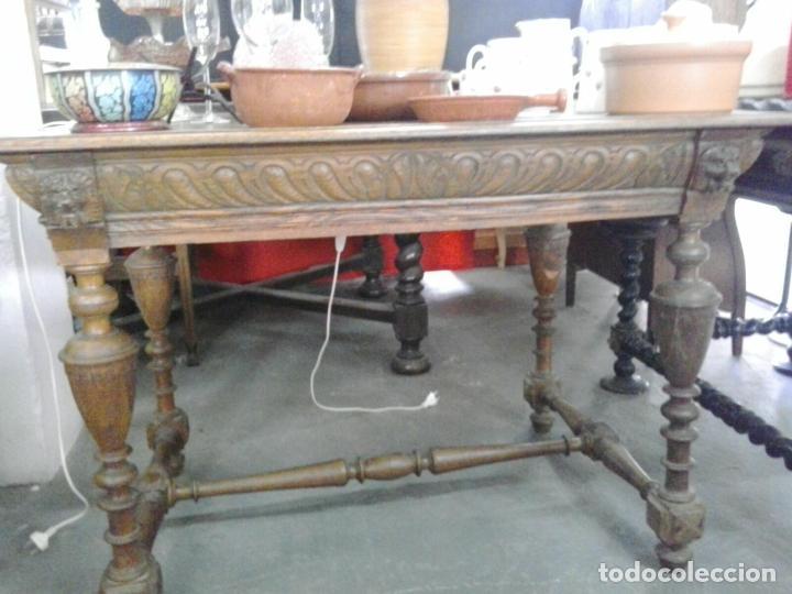 antigua mesa de comedor inglesa en madera de ro - Kaufen Antike ...