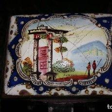 Antigüedades: CAJA PARA RAPÉ SNUFFBOXES SIGLO XVIII INGLATERRA. Lote 68262697