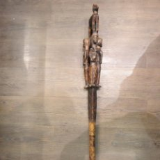Antigüedades: BASTON ETNICO AFRICANO. Lote 68275985