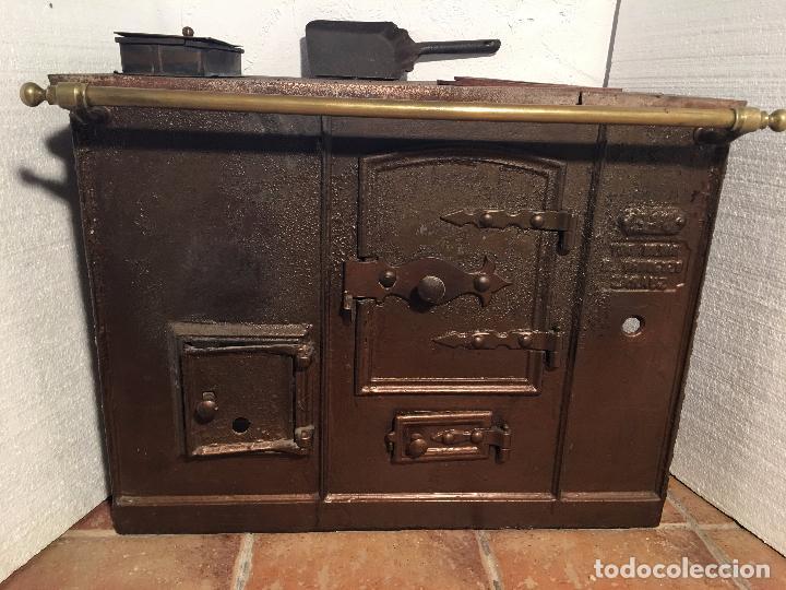 Antigua cocina economica comprar utensilios del hogar for Cocinas de hierro antiguas